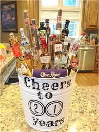 Easy DIY Gift Idea For A 21st Birthday Cheap Ideas
