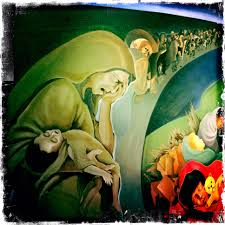 Denver International Airport Murals Meaning by Denver Airport Satanic Images Reverse Search