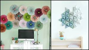 Paper Wall Decor 6 DIY Upcycled Ideas