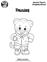 Daniel Tiger Coloring Page Pages Are A Great Campsite Activity For