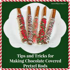 Halloween Pretzel Rods by Crafty In Crosby December 2013