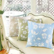Large Decorative Couch Pillows by Relieving Embroidery Together With Beads Shop In Handmade Red