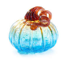 Glass Pumpkin Patch Puyallup by I Found A Small Ombré Crackle Glass Pumpkin At Big Lots For Less