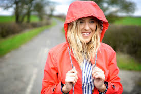emtalks spring style spots stripes u0026 a red raincoat