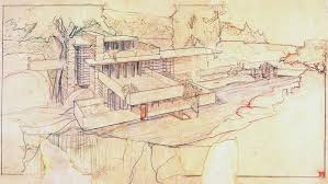 100 Frank Lloyd Wright Sketches For Sale Drawing By The Love Of