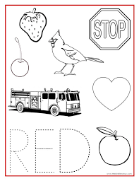 Best 25 Color Red Activities Ideas On Pinterest Meaning Printable Coloring Pages