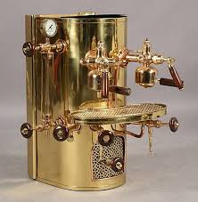 Copper Professional Cappuccino Espresso Machine