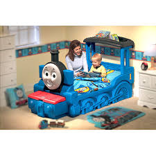 little tikes thomas friends train toddler bed with mattress