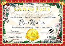 Santa Claus Certificate Template Best Of Secret Email