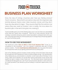 100 Start A Trucking Company Sample Business Plan For A Food Truck Template Start In 5 Days 1