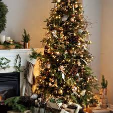 Fresh Tree Branch Christmas Tree VW95 Roccommunity