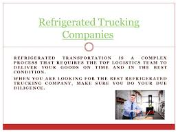 100 Refrigerated Trucking Companies Trucking Companies By Flatbed Issuu