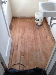 Tiling A Bathroom Floor Over Linoleum by Removal Trouble Removing Vinyl Tile And Underlayment From Wood