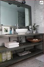 Diy Industrial Bathroom Mirror by Best 25 Handmade Bathroom Mirrors Ideas On Pinterest Bathroom