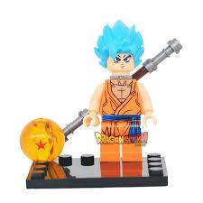 Super Saiyan Blue Son Goku W Staff