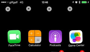 How to add empty space at the top of the iPhone Home Screen