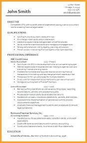 Resume For Cpa Sample Accountant Simple Format Pdf