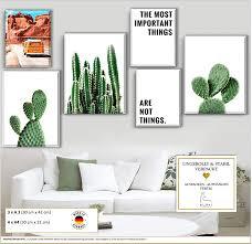 cactus wall posterset 6x elafi premium poster set 3x dina3