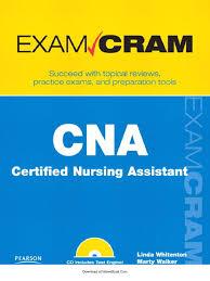 Pearson Exam Copy Book Bag by Cna Certified Nursing Assistant Exam Cram Nursing Multiple Choice