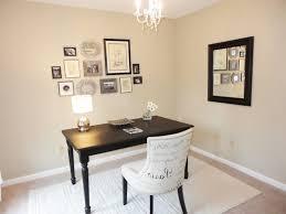 feminine executive office decor white framed wooden windows with