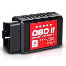 Amazoncom Audew Car WiFi OBDII ReaderScannerWireless OBD2 Car