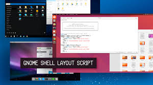 Tiling Window Manager Ubuntu by Gnome Layout Manager Makes It Easier To Get The Look Of Other Oss