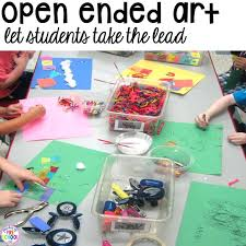 Creative Arts Activities For Preschoolers Open Ended Crafts Art Centers Ideas Spring On First Toddlers And