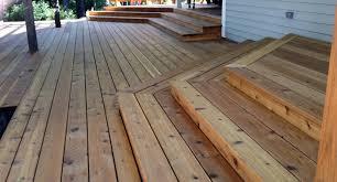 Wood Decking Boards by Cedar Decking Boards U2014 Doherty House