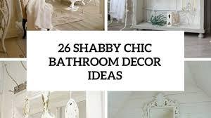 White Shabby Chic Bathroom Ideas by Unique Shabby Chic Bathroom Decor The Home Design On Home