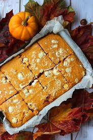 Libbys Pumpkin Pie Recipe Uk by Pumpkin Spice Blondies Supper In The Suburbs