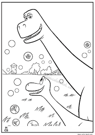 Good Dinosaur Coloring Pages Free Printable 39
