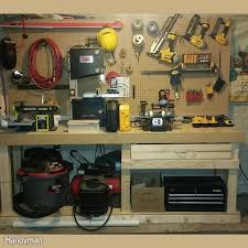40 best workbench plans images on pinterest woodwork garage
