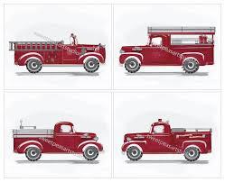 100 Fire Truck Wall Art Truck Engines Work Truck