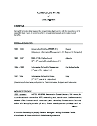 Sample Resume Objective Statements General