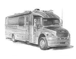 RV Drawing By Mike Theuer