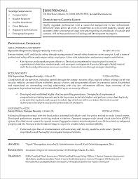 Sample Police Officer Resume Examples Special For Position