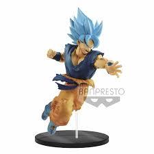 24 Cm Dragon Ball Z Super Saiyan Goku Acción Batalla