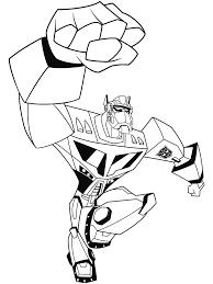 8 Dessins De Coloriage Transformers Prime A Imprimer À Imprimer De