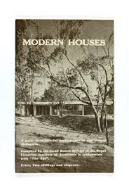 100 Modern Homes Melbourne Booklet Houses Small Service Royal
