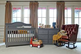 Cribs That Convert To Toddler Beds by Louis 4 In 1 Convertible Crib W Toddler Rail Manor Grey Twinkle
