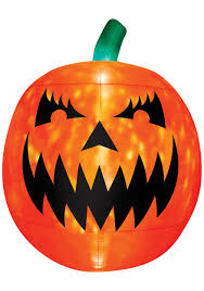 Scary Pumpkin Printable by Inflatable Light Up Scary Pumpkin Decoration