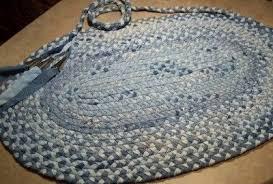 tapis a faire soi meme un tapis en matériau de récup