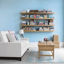 White Blue Decorating Color Schemes Room Decor