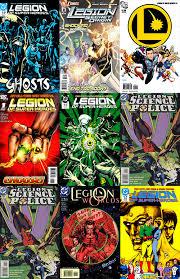 Legion Of Super Heroes V1 V2 V3 V4