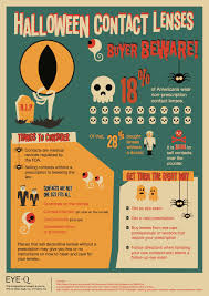 Theatrical Contacts Prescription by Halloween Contact Lenses Cheat Sheet Eye Q Vision Care