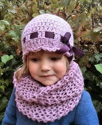 Gorro lazo ni±a de 3 a 6 a±os de lana rosa
