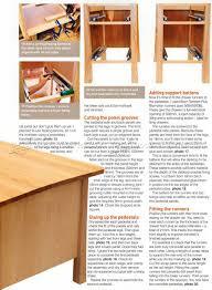 twin pedestal desk plans u2022 woodarchivist