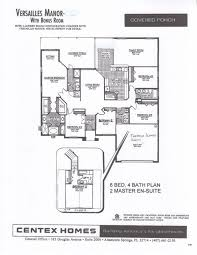 Centex Floor Plans 2010 by Truly Stunning 6 Bed Home Available For Homeaway Hampton Lakes