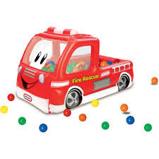 Little Tikes Fire Truck Play Center Ball Pit - Walmart.com Little Tikes Fire Truck Bayi Kkanak Alat Mainan Dan Walkers Fire Truck 4 Men Chunky People Vintage 80 S Toy Vgc Engine Toddler Bed Best Resource Slammin Racers Toys R Us Canada Spray Rescue At Mighty Ape Nz Makeover In 2018 Loves Jual Di Lapak Ajeng Ajengs77 Ones Creative Life Bali Baby Shop Foot To Floor Replacement Parts
