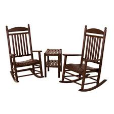 POLYWOOD® Jefferson 3 Pc. Recycled Plastic Rocker Set With Side Table Polywood Pws11bl Jefferson 3pc Rocker Set Black Mahogany Patio Wrought Iron Rocking Chair Touch To Zoom Outdoor Cu Woven Traditional That Features A Comfortable Curved Seat K147fmatw Tigerwood With Frame Recycled Plastic Pws11wh White Outdoor Resin Rocking Chairs Youll Love In 2019 Wayfair Wooden All Weather Porch Rockers Vermont Woods Studios